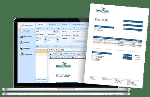 Faktum Factuur Software, Factuurprogramma